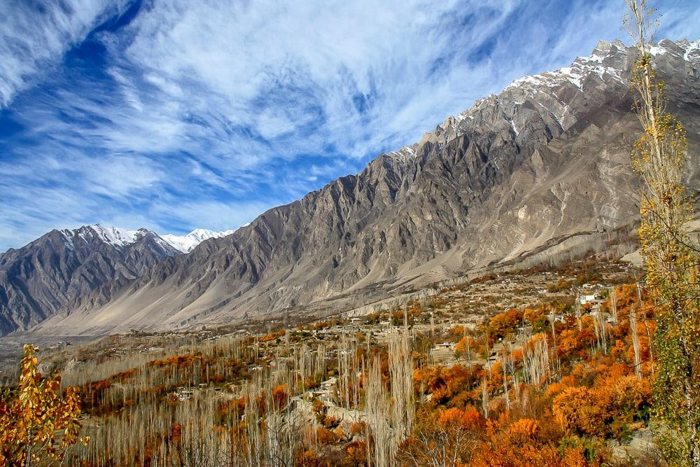 Mountain landscape in Pakistan