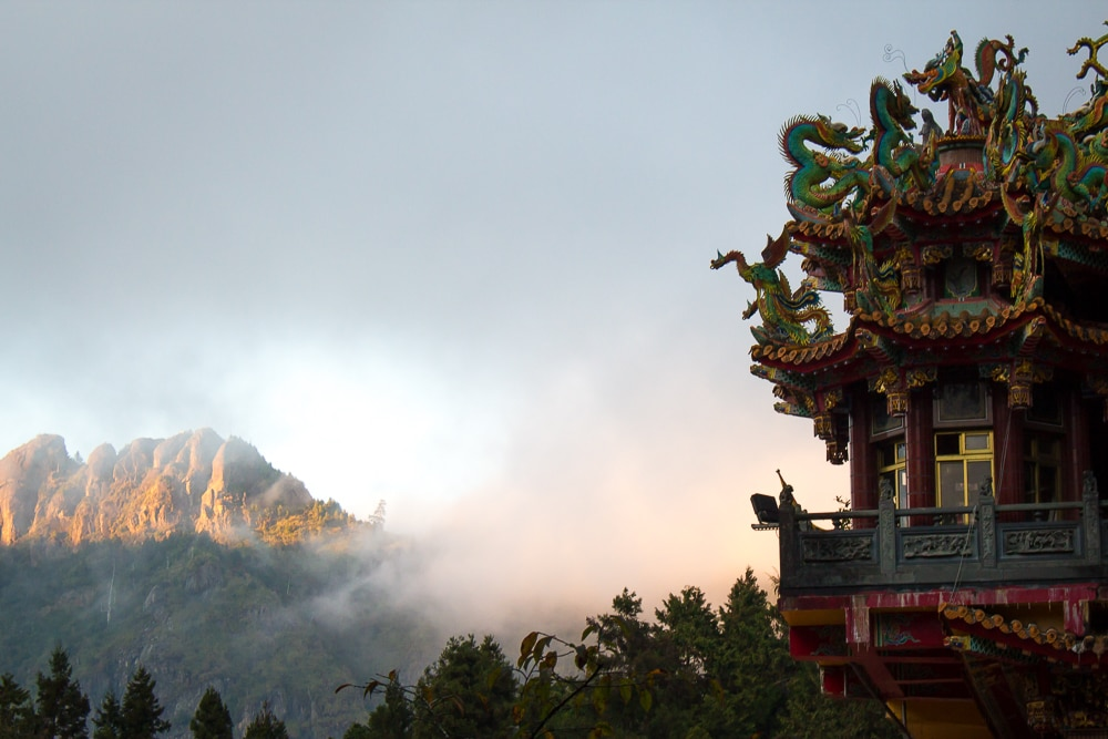 Shouzhen Temple, Alishan, Taiwan
