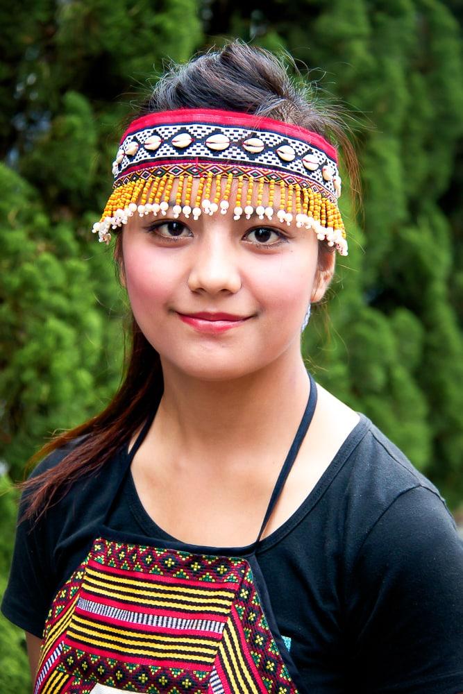 Aboriginal Taiwanese at Sun Moon Lake