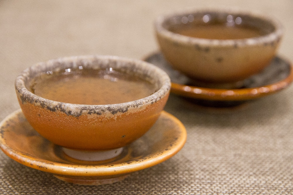 Handmade teacups, perfect for drinking Taiwanese tea