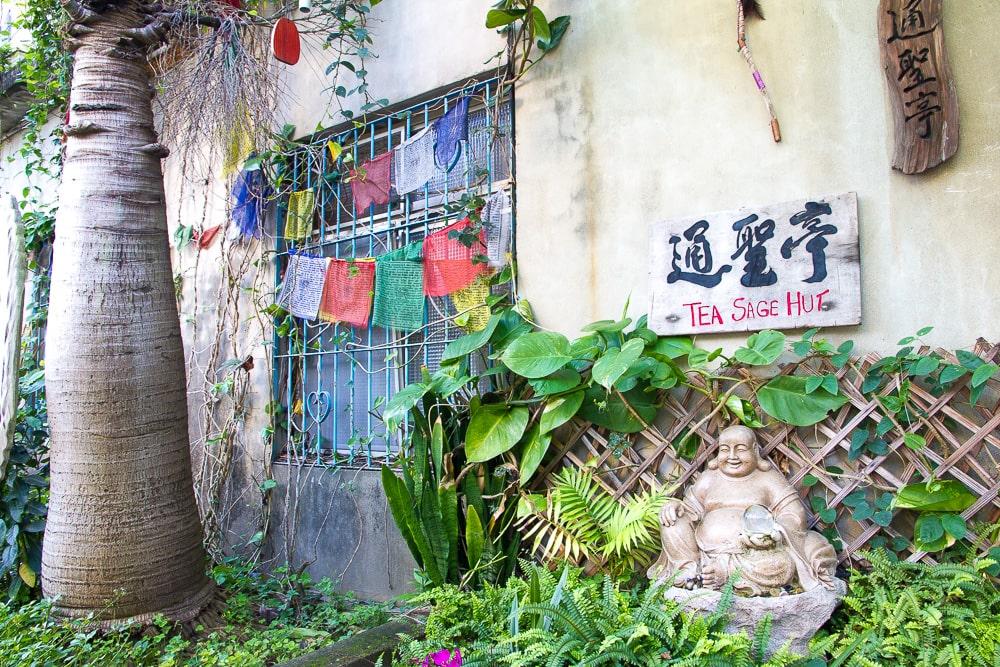 "Global Tea Hut's ""Tea Sage Hut"" in Miaoli, Taiwan"