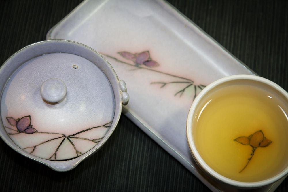 My Taiwan tea set purchased in Yingge, Taiwan
