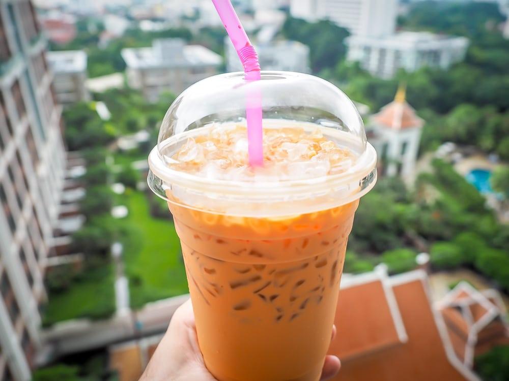 Thai iced tea, the most popular tea in Thailand