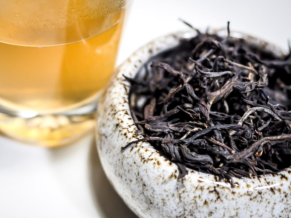 Thai raw sheng pu er tea from Teaside