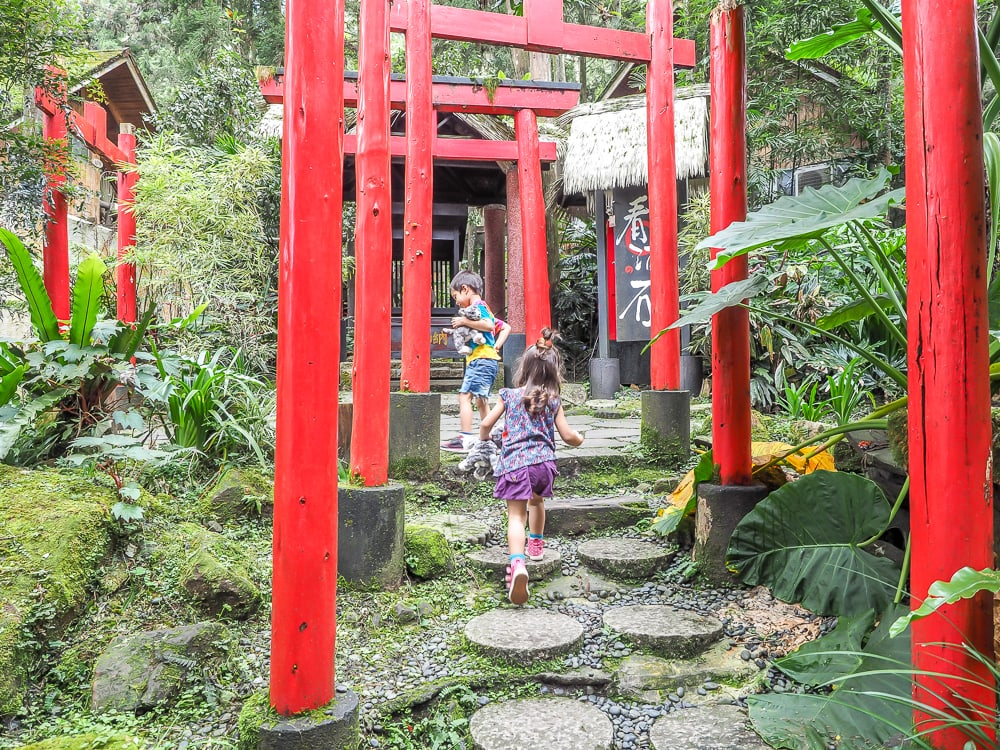 Sun Moon Torii Trail at Xitou Monster Village
