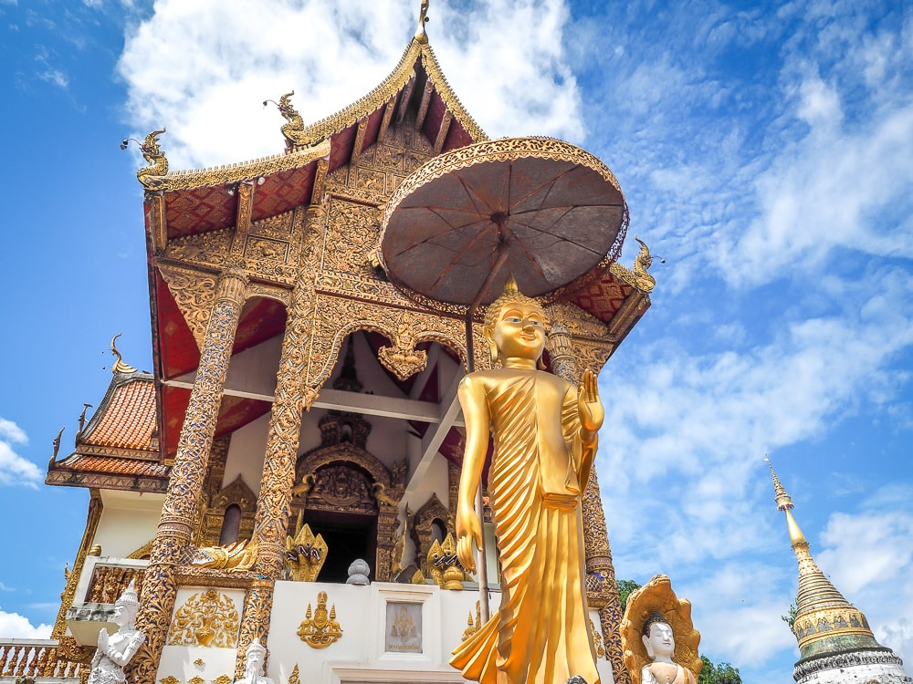 Assembly hall of Wat Buppharam, Chiang Mai