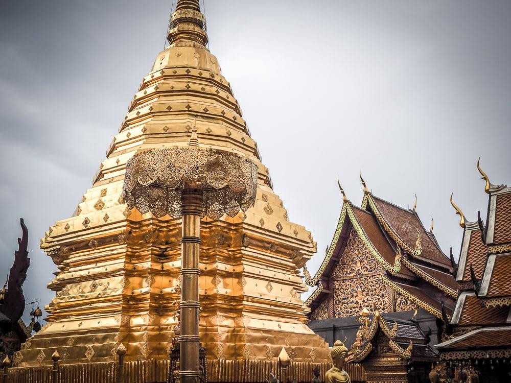 Wat Doi Suthep (temple), Chiang Mai's most important temple