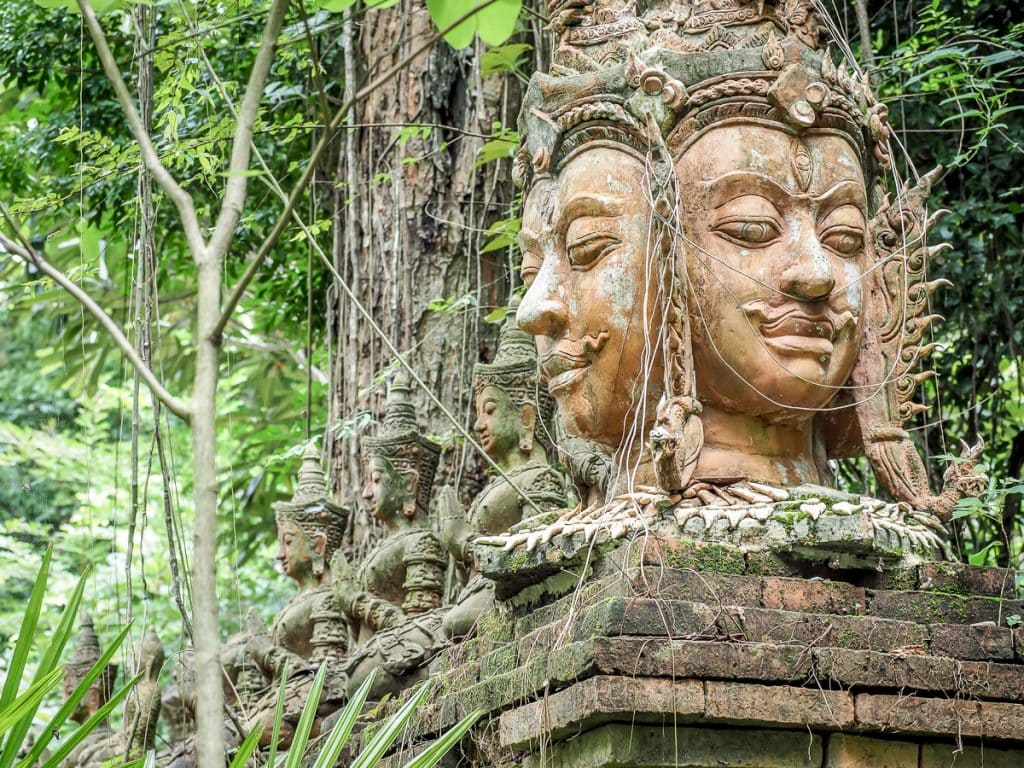 Wat Pha Lat forest temple, Chiang Mai