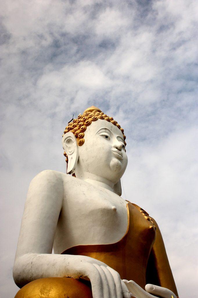 Big Buddha at Wat Phra That Doi Kham, Chiang Mai