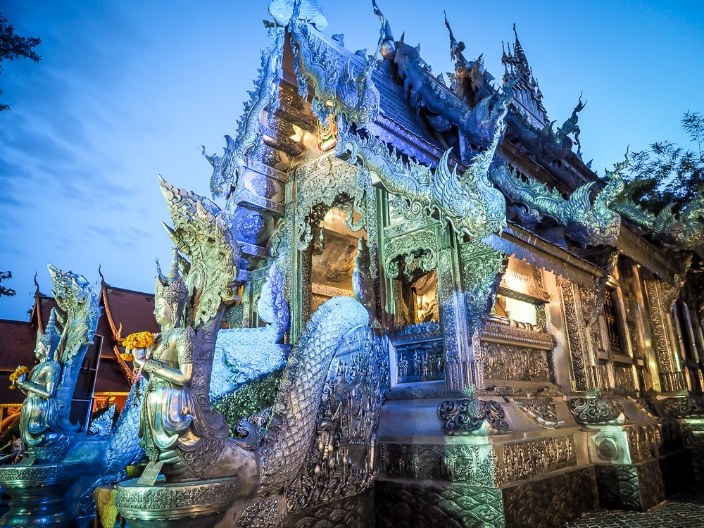 Wat Sri Suphan, the Silver Temple, Chiang Mai