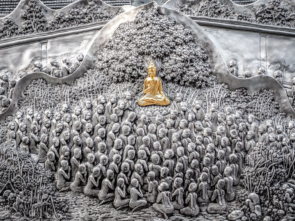 Silverwork, Wat Sri Suphan (the Silver Temple Chiang Mai)