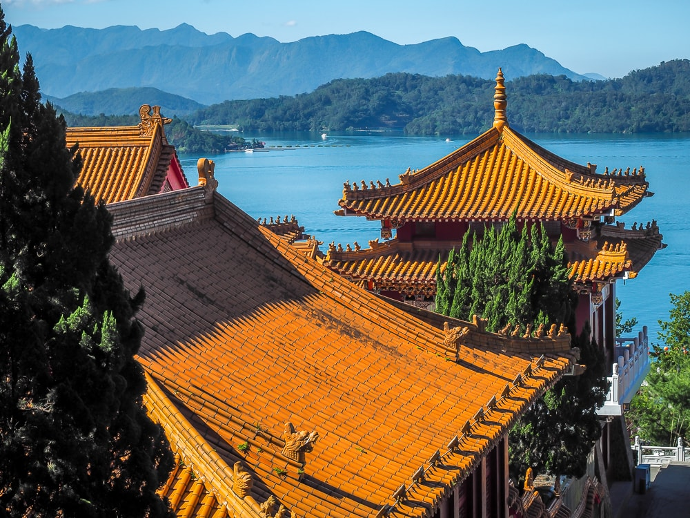Sun Moon Lake Wenwu Temple, a must on your Sun Moon Lake itinerary