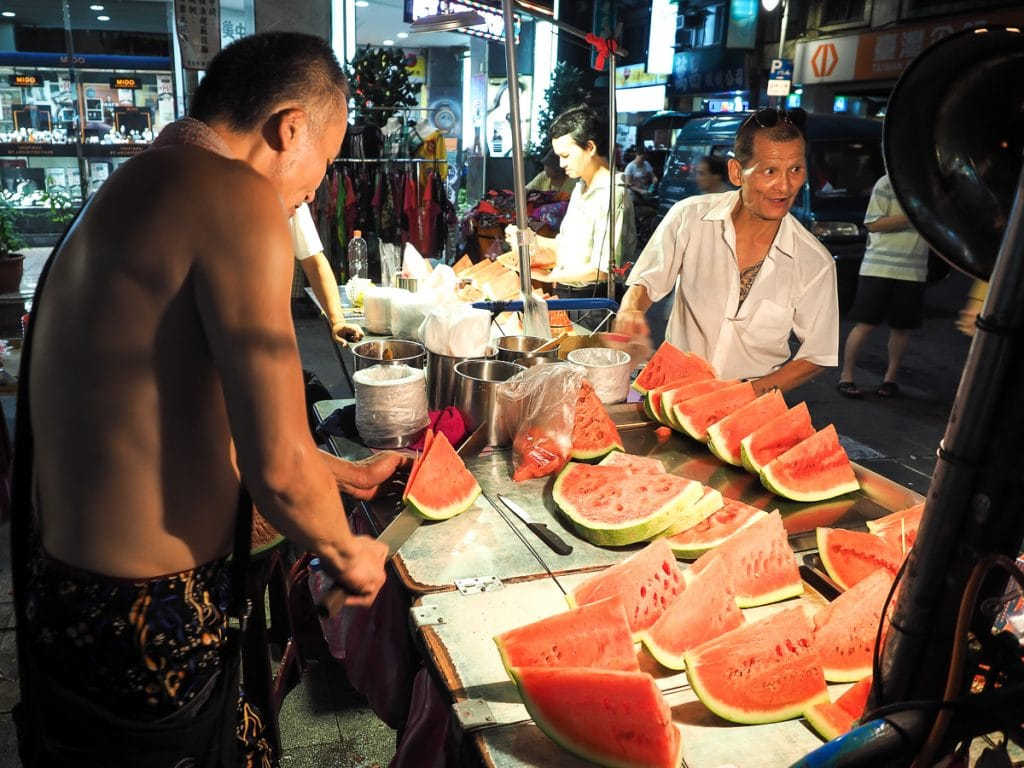 Xichang Street Night Market, Taipei