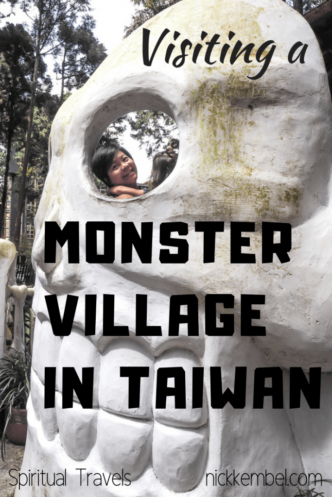 Did you know there's a Japanese themed monster village in Taiwan? It's called the Xitou Monster Village in Nantou! #taiwan #monsters #monstervillage #xitoumonstervillage #taiwanthemehotel #nantou