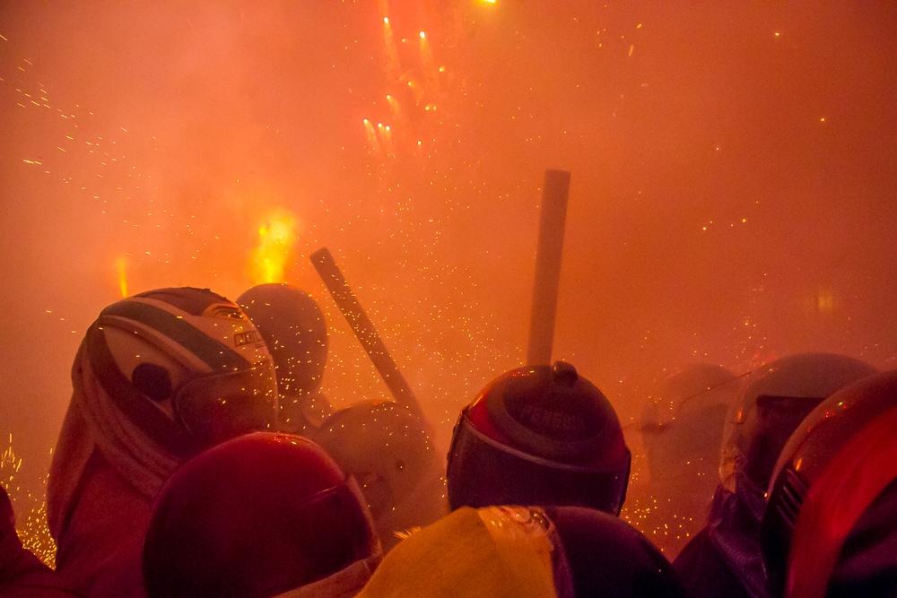 Yanshui Rockets Festival madness