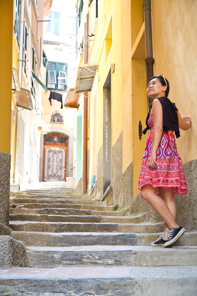 We loved strolling the alleys and staircases on our honeymoon in Cinque Terre