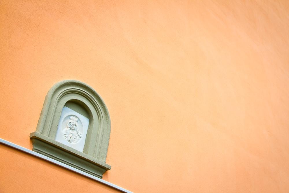 Cinque Terre church detail