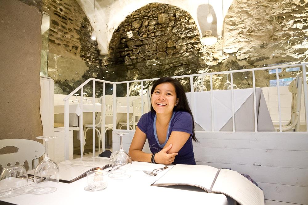 Dau Cila, Riomaggiore, best restaurant in Cinque Terre