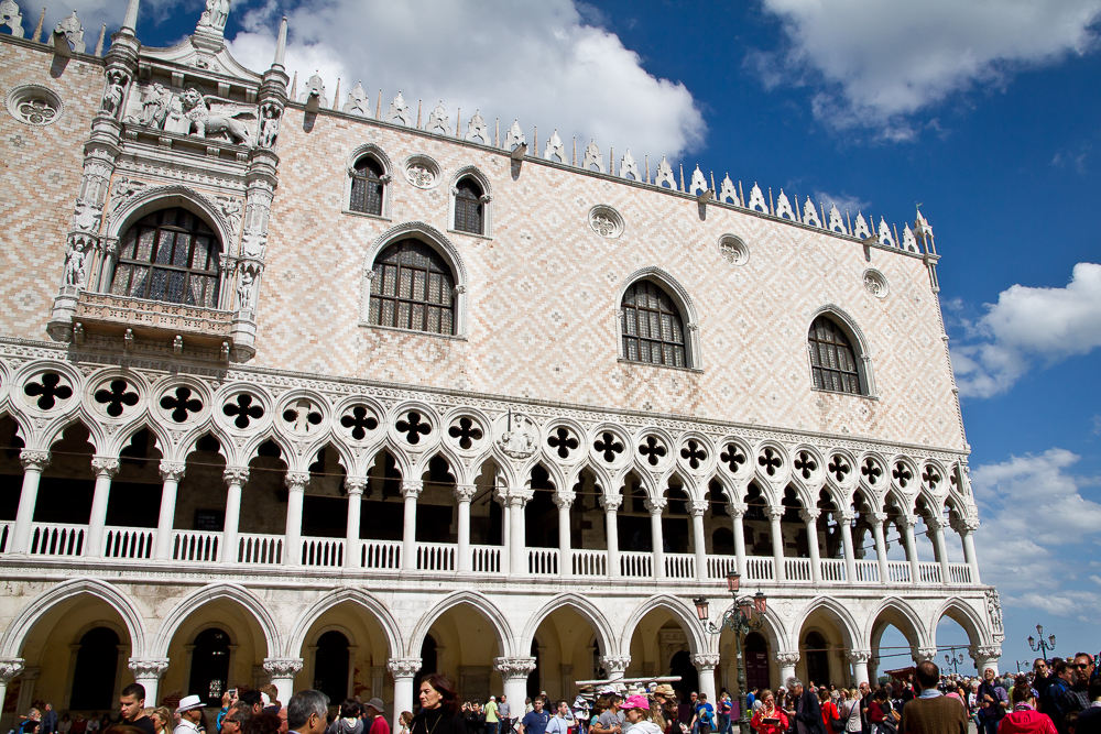 Doge's Palace, St. Mark's Square, Venice
