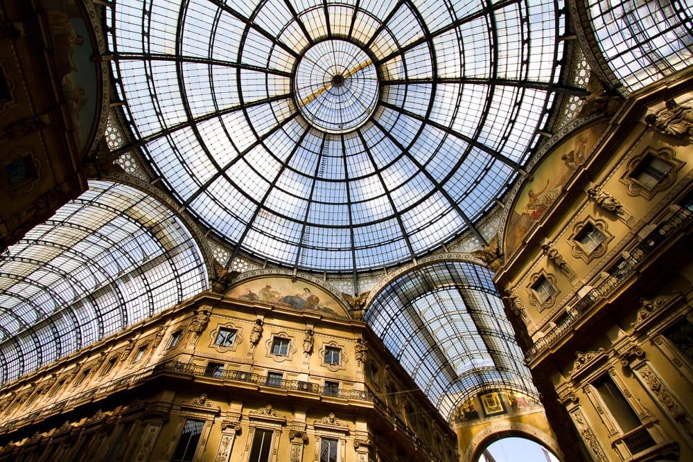 Galleria Vittorio Emanuele II ceiling