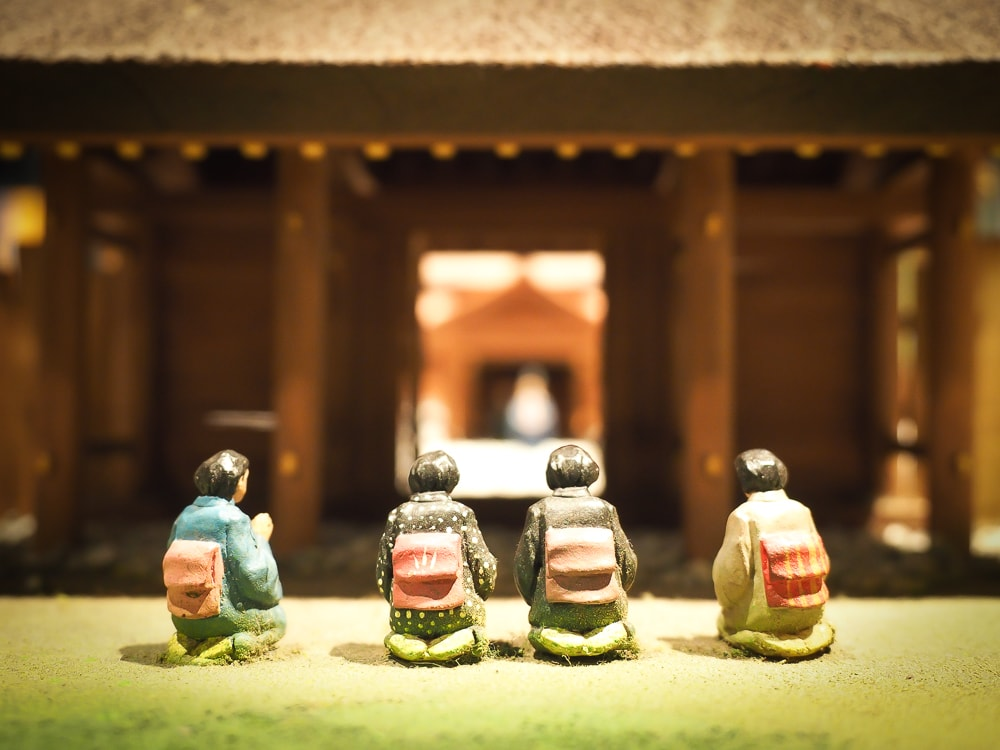 Ise Grand Shrine miniature at the Museum of World Religions Taipei