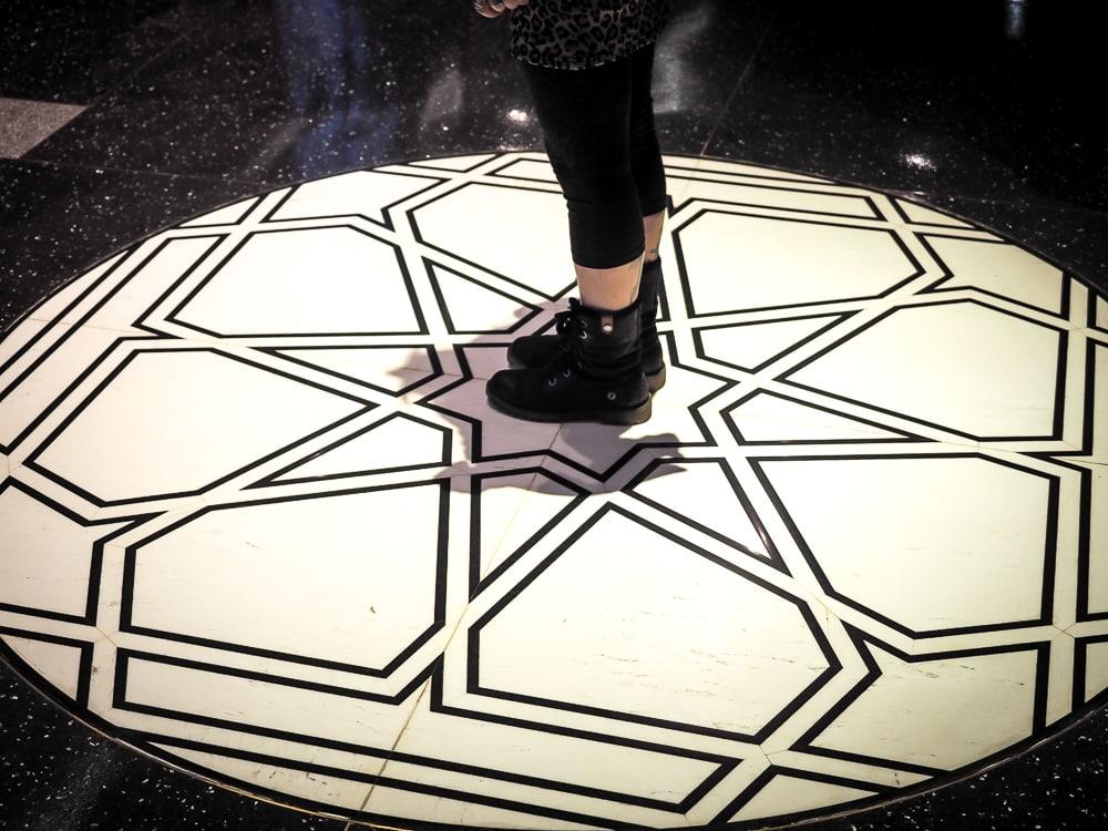 Floor tiles, Taiwan Museum of World Religions