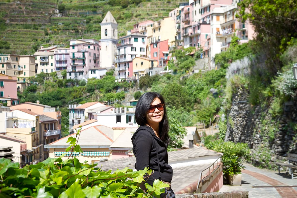 We saw few other tourists on our honeymoon in Cinque Terre
