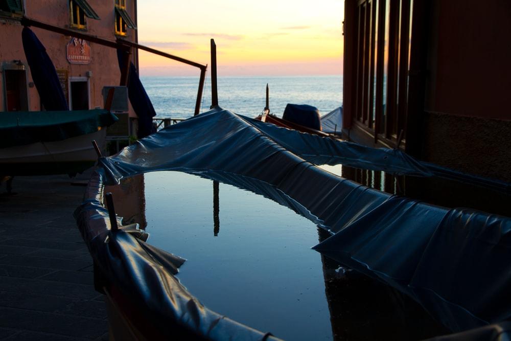 Sunset from Manarola