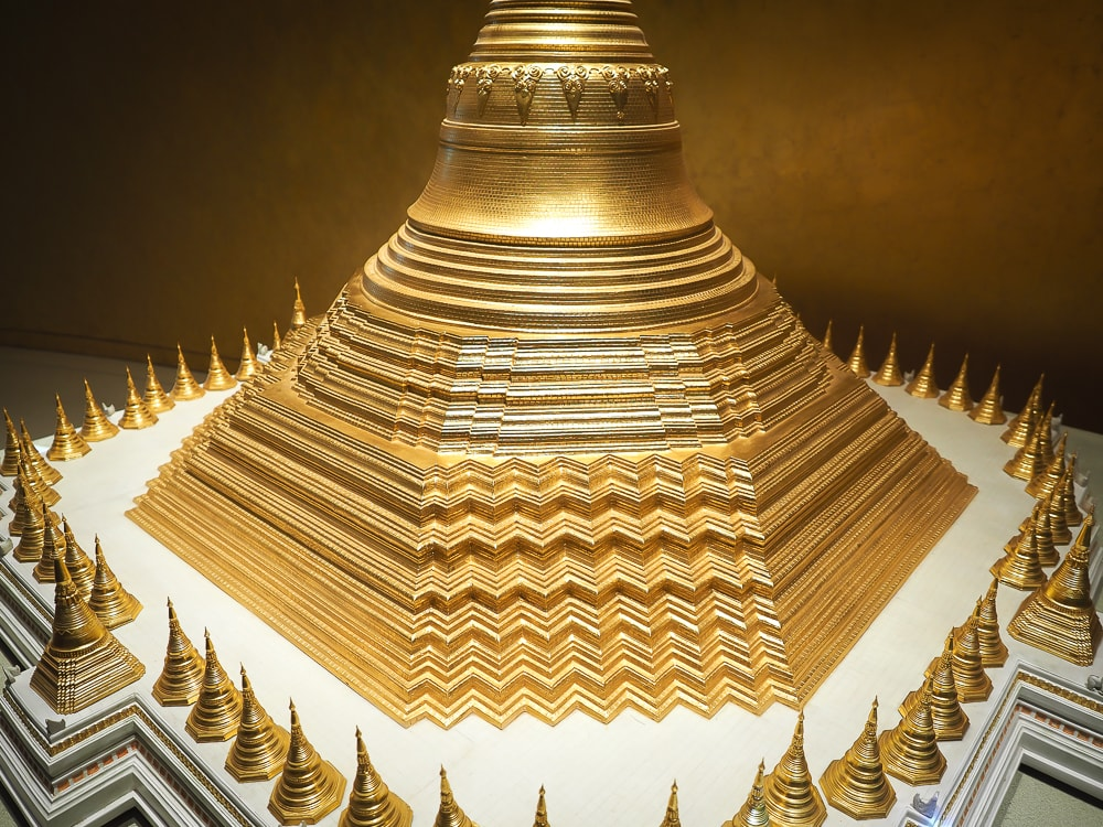 Shwedagon Temple miniature at Museum of World Religions Taiwan