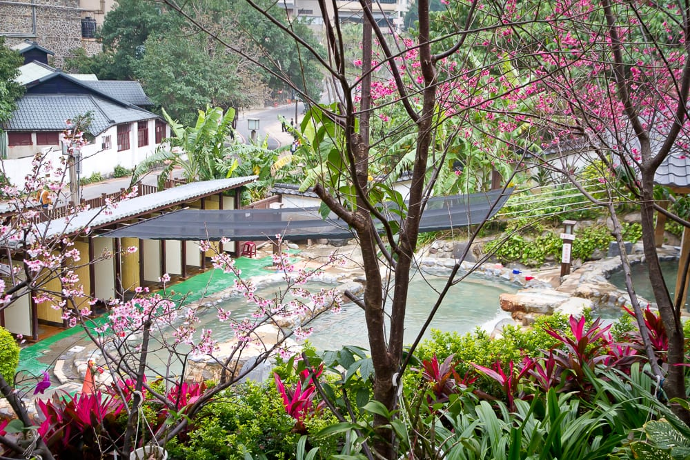 Wondering what to do in Taiwan? Check out Millennium hot spring in Beitou!