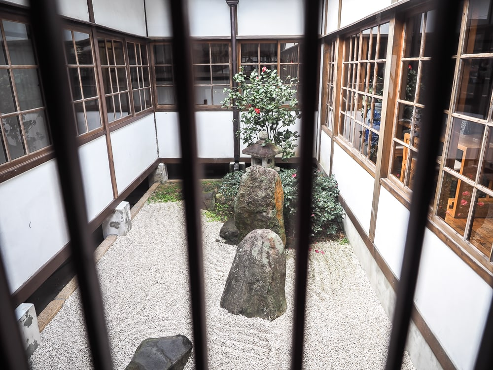Beitou Museum internal courtyard