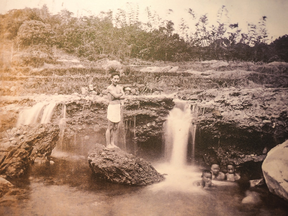 Beitou hot spring creek before development
