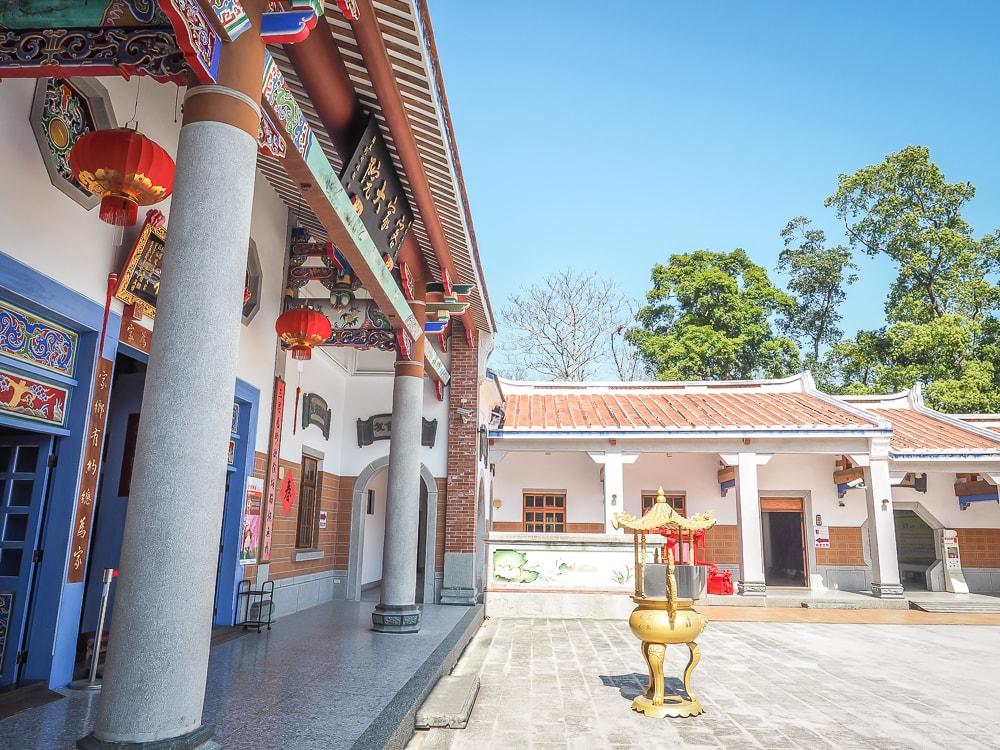 Hakka Courtyard in Tongluo, Miaoli