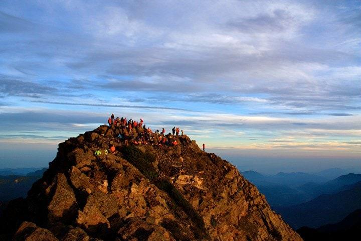 Peak of Yushan (Jade Mountain), Taiwan