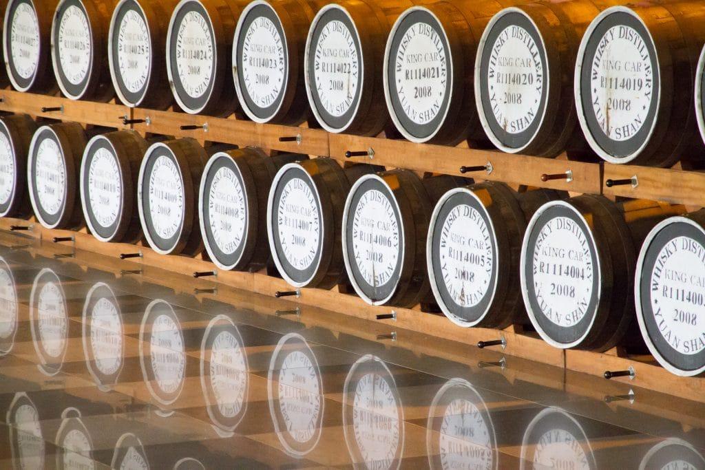 Kavalan Whiskey Distillery, Yilan, Taiwan