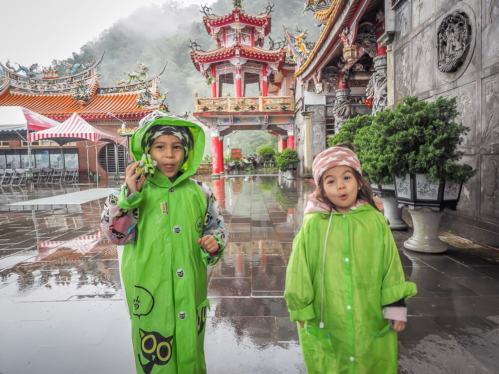 Traveling in Taipei with kids