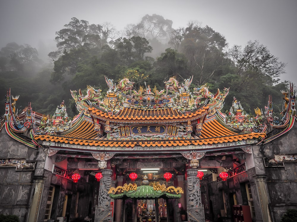 Futian Temple, Lion's Head Mountain