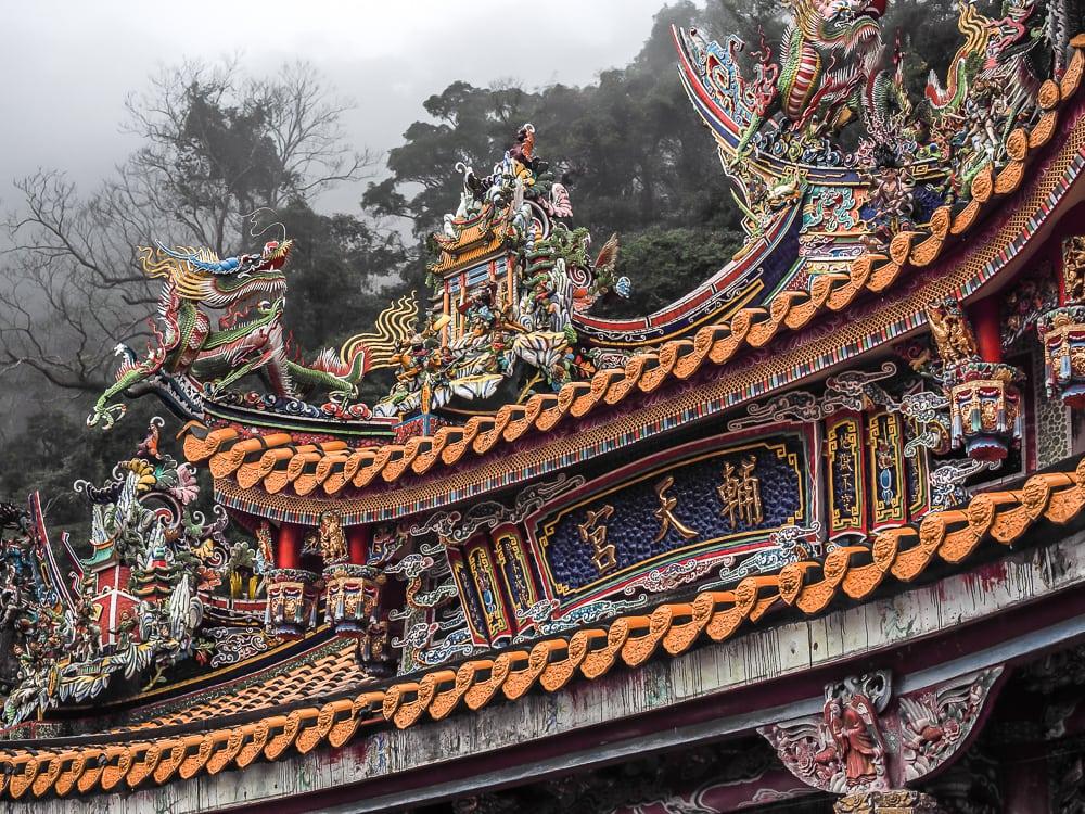 Futian Temple, Lion's Head Mountain