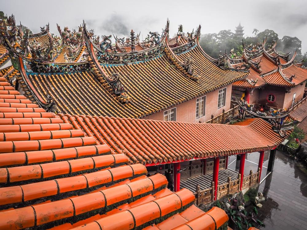 Quanhua Temple, Lion's Head Mountain, Miaoli, Taiwan