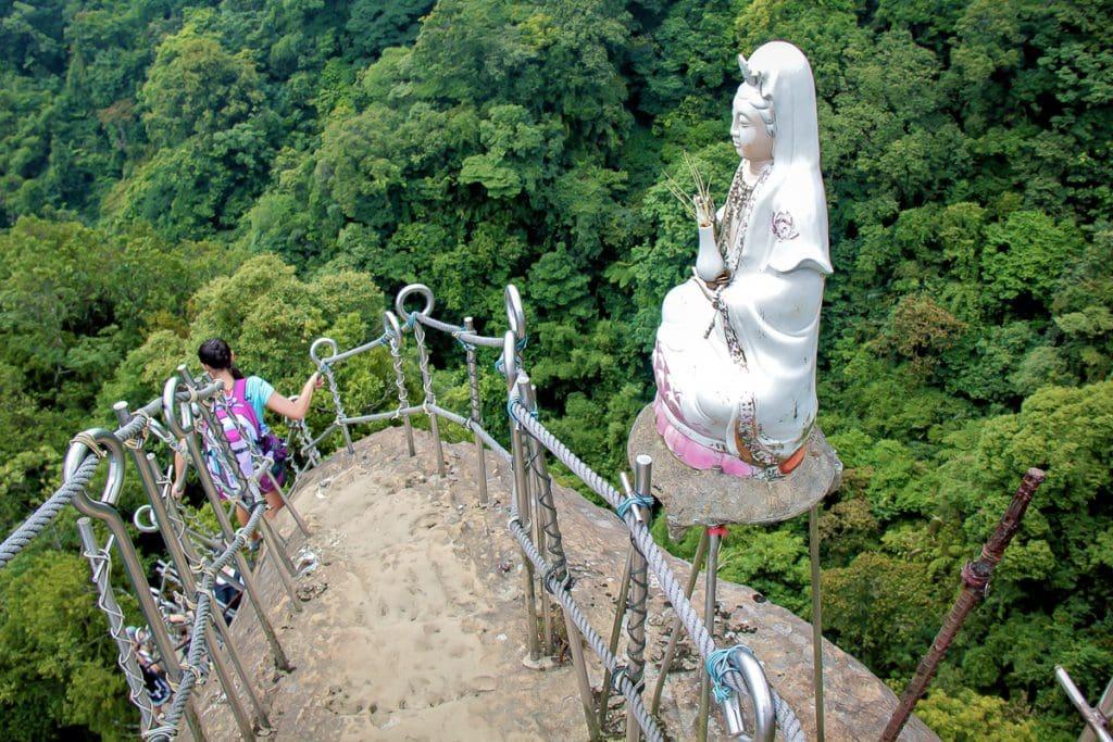 Pingxi Crags hike, Taiwan