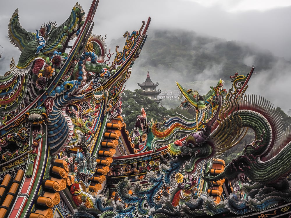 Quanhua Pagoda, Lion's Head Mountain