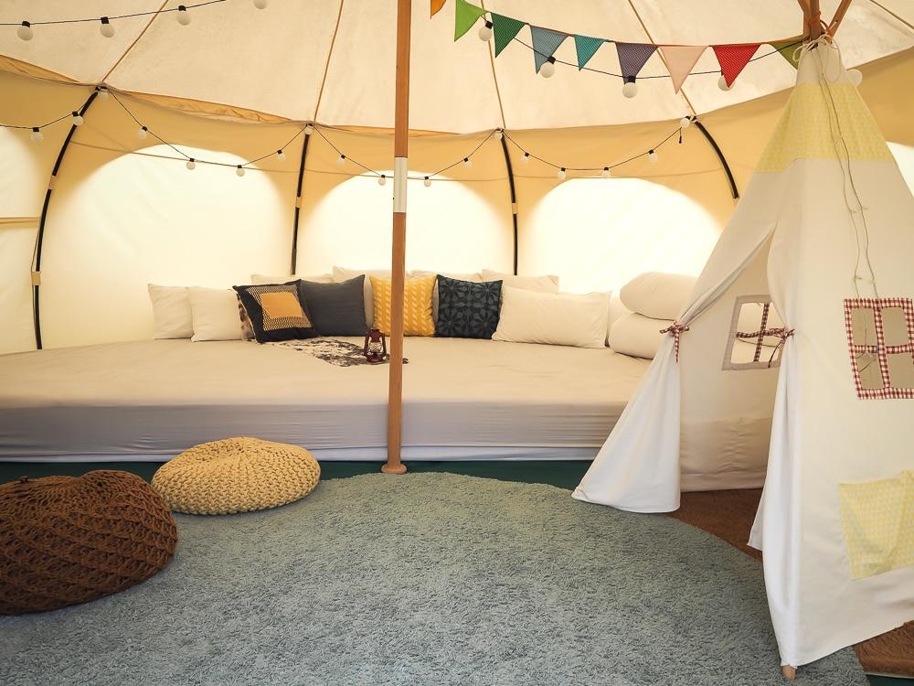 Taiwan luxury camping at CMP Village, Shangri-La Paradise, Miaoli