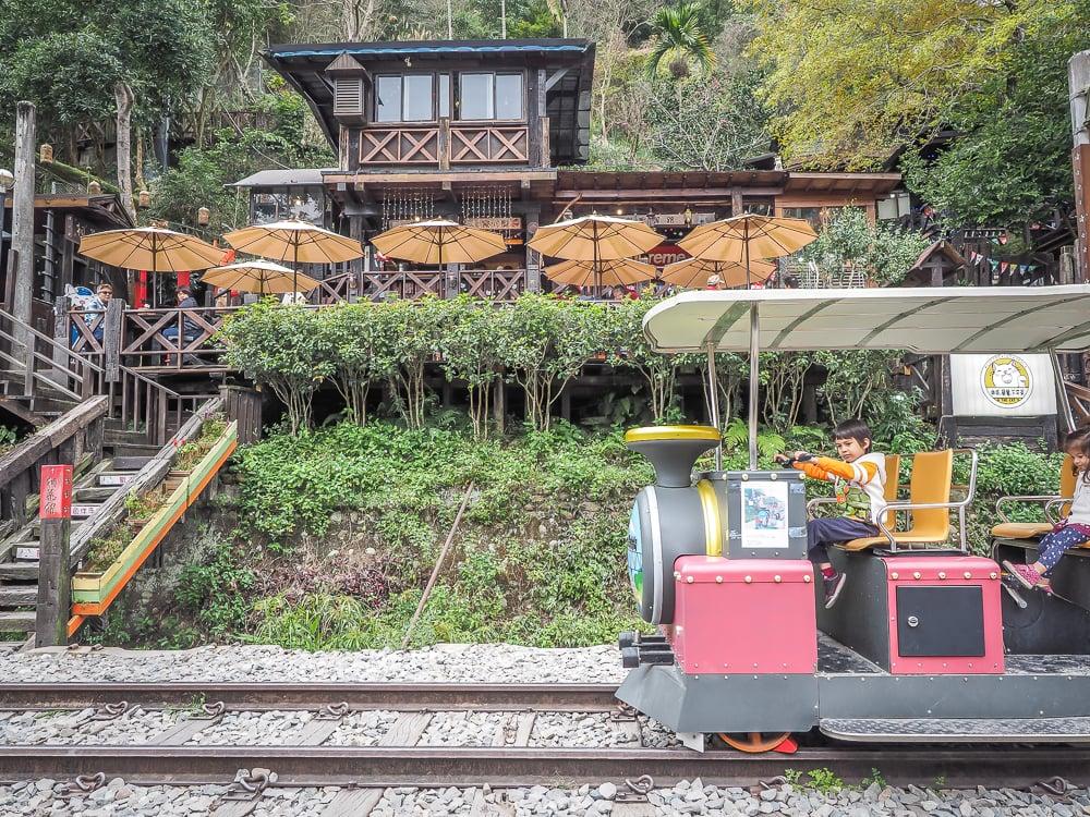 Shenxing Old Mountain Line Rail Bike to Longteng Bridge, Miaoli
