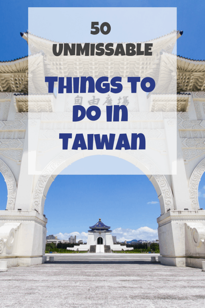 Looking for things to do in Taiwan? Here's the ultimate list of Taiwan attractions and what to do in Taiwan #taiwan #thingstodointaiwan