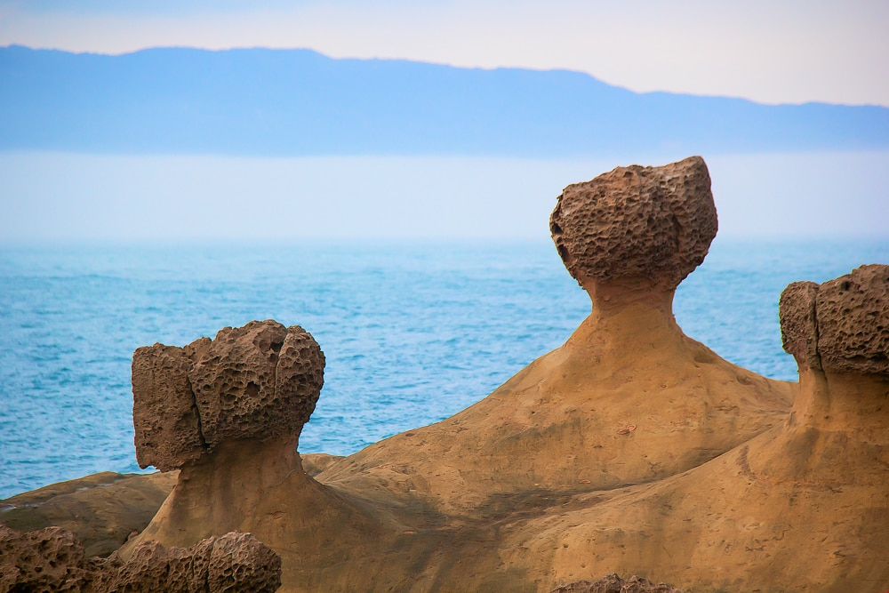 Yehliu Geopark, one of the most popular day tours from Taipei