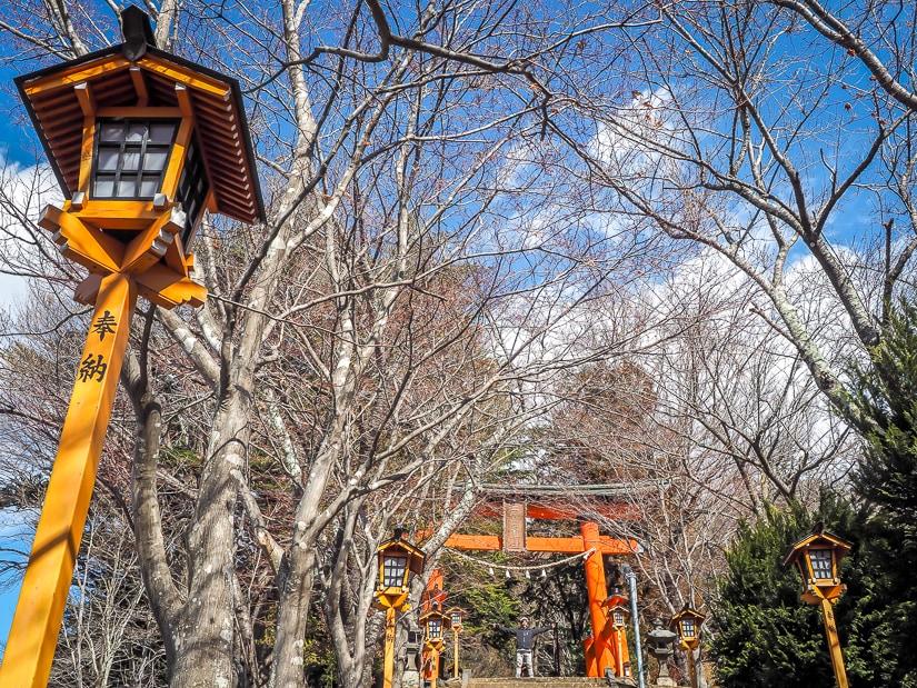 Stairs to Chureito Pagoda, Arakura Fuji Sengen Jinja