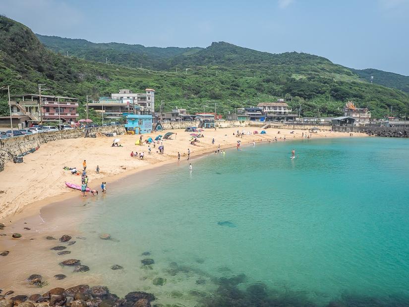 Dawulun Lover's Beach, Keelung, Taiwan