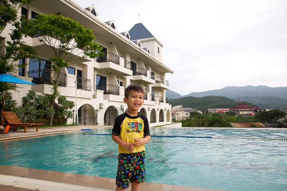 Pool at Fullon Hotel Fulong, Fulong Beach