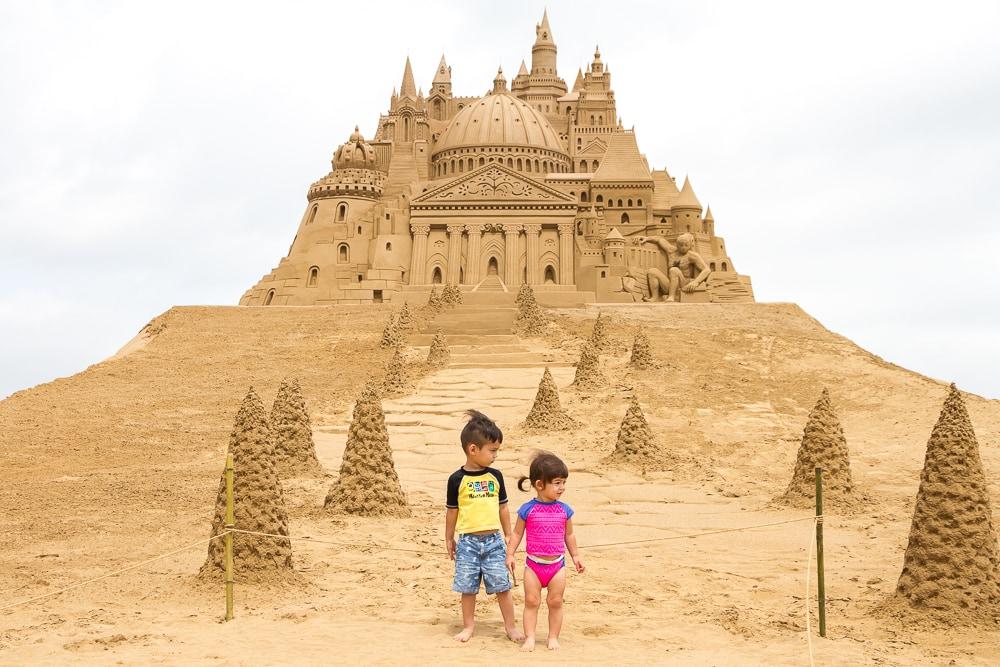Fulong Sand Castle Festival