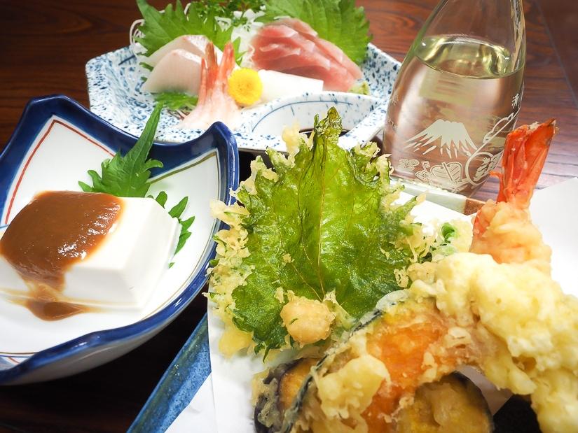 Minshuku Murahamasou guesthouse meal